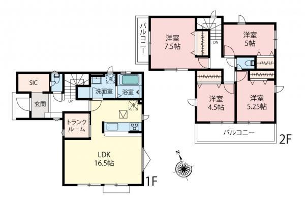 新築戸建 東久留米市柳窪5丁目 西武新宿線小平駅 3580万円