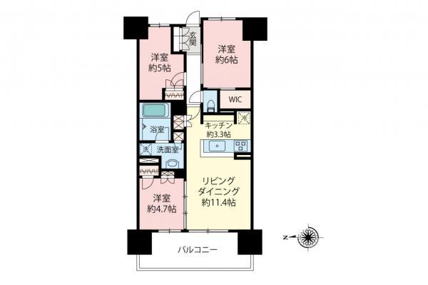 中古マンション 板橋区蓮根3丁目 都営三田線西台駅 4880万円