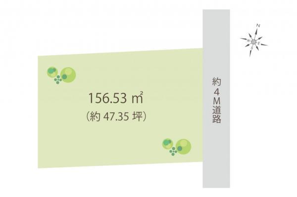 土地 川越市大字小堤 東武東上線鶴ヶ島駅 1100万円