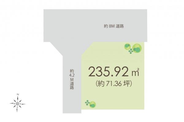土地 入間市大字新久 西武池袋線仏子駅 1580万円