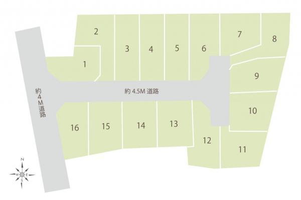 土地 板橋区西台2丁目 都営三田線西台駅 2950万円~3680万円