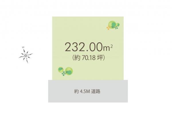 土地 所沢市大字山口 西武狭山線下山口駅 2780万円