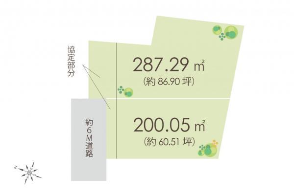 土地 富士見市大字上南畑 東武東上線鶴瀬駅 1670万円~1770万円