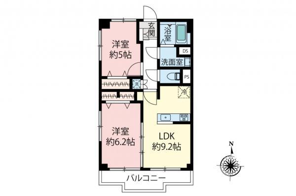 中古マンション 練馬区豊玉北4丁目 西武池袋線桜台駅 3490万円
