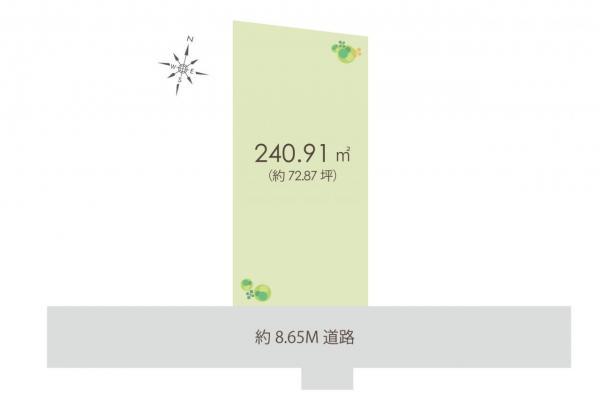 土地 入間市小谷田3丁目 西武池袋線入間市駅 1780万円