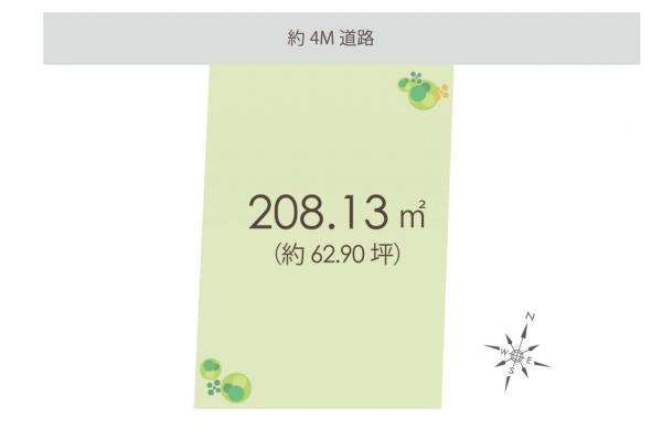 土地 狭山市鵜ノ木 西武池袋線入間市駅 1780万円