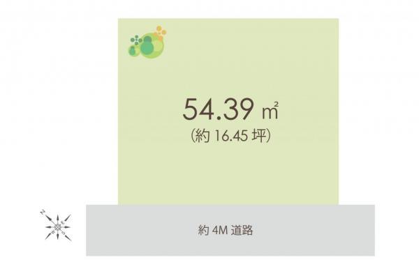 土地 ふじみ野市福岡武蔵野 東武東上線上福岡駅 1280万円