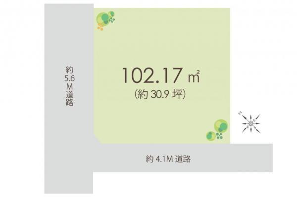 土地 坂戸市浅羽野1丁目 東武東上線坂戸駅 1098万円