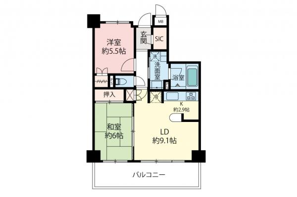 中古マンション 所沢市大字上安松 西武池袋線所沢駅 2999万円