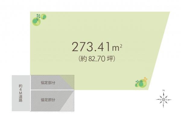 土地 富士見市大字勝瀬 東武東上線ふじみ野駅 2880万円
