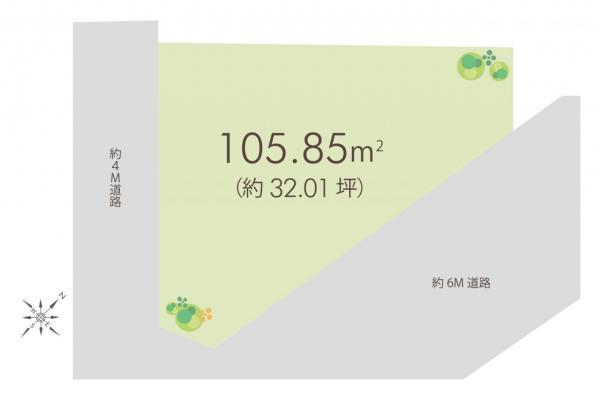 土地 入間市大字小谷田 西武池袋線入間市駅 880万円