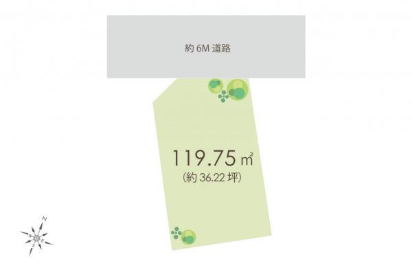 土地 所沢市東所沢和田3丁目 JR武蔵野線東所沢駅 2980万円