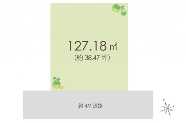 土地 川越市霞ケ関北5丁目 東武東上線霞ケ関駅 1780万円