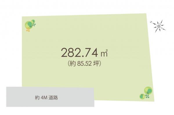 土地 鶴ヶ島市大字太田ヶ谷 東武東上線鶴ヶ島駅 2850万円