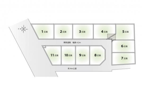 土地 所沢市北中3丁目 西武池袋線小手指駅 2060万円~2730万円