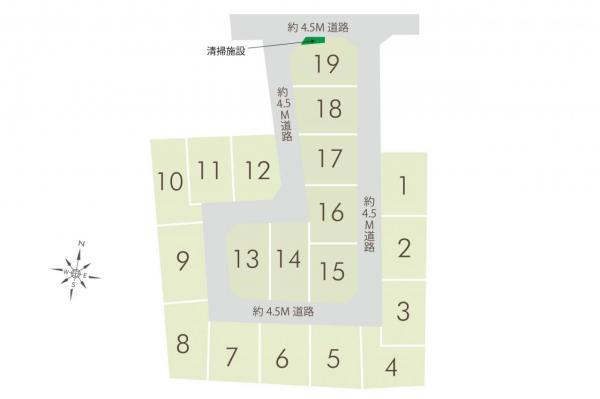 土地 狭山市入間川 西武新宿線狭山市駅 1590万円~1790万円