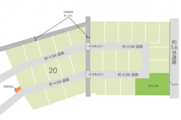 土地 志木市下宗岡2丁目 東武東上線志木駅 2540万円
