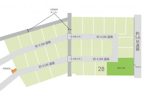 土地 志木市下宗岡2丁目 東武東上線志木駅 2260万円