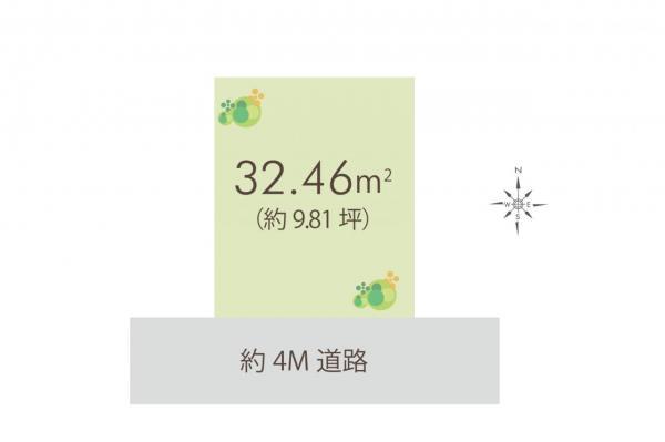 土地 練馬区貫井3丁目 西武池袋線富士見台駅 2500万円