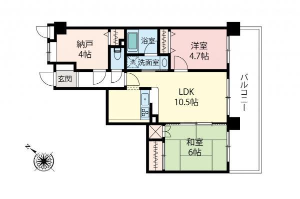 中古マンション 板橋区大門 都営三田線西高島平駅 2380万円
