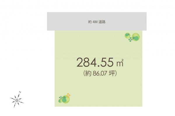 土地 飯能市大字中山 西武池袋線飯能駅 1630万円