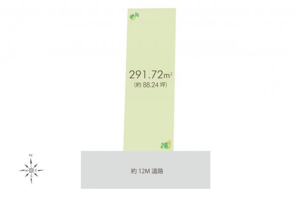 土地 川越市久保町 西武新宿線本川越駅 1億2200万円