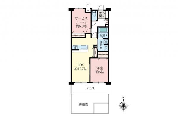 中古マンション 小平市栄町2丁目 西武拝島線小川駅 2099万円