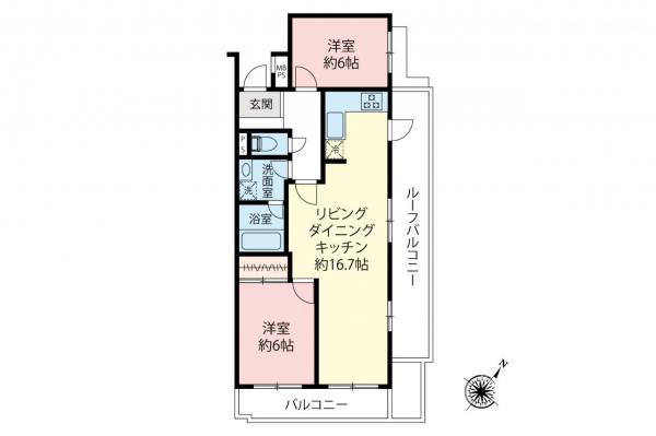 中古マンション 鶴ヶ島市富士見5丁目 東武東上線若葉駅 1380万円