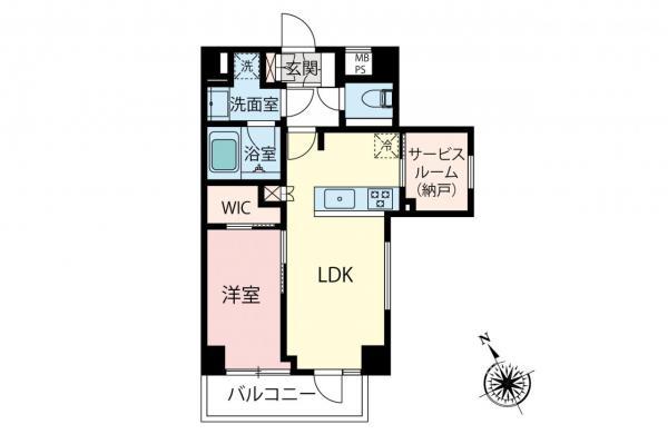 中古マンション 中野区中央3丁目 丸の内線新中野駅 4680万円