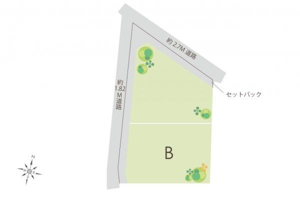 土地 飯能市大字青木 JR八高線(八王子〜高麗川)東飯能駅 1380万円