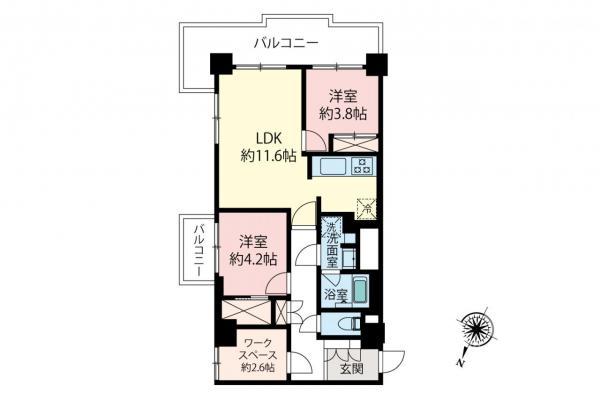 中古マンション 練馬区豊玉北4丁目 西武池袋線桜台駅 3790万円