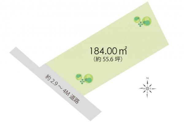 土地 日高市大字南平沢 JR川越線高麗川駅 850万円