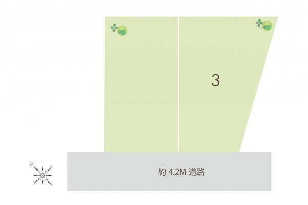 土地 所沢市上新井1丁目 西武狭山線西所沢駅 2880万円