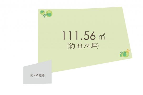 土地 所沢市青葉台 西武池袋線小手指駅 1890万円