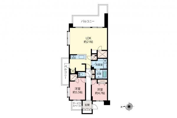中古マンション 中野区丸山1丁目 西武新宿線野方駅 6690万円