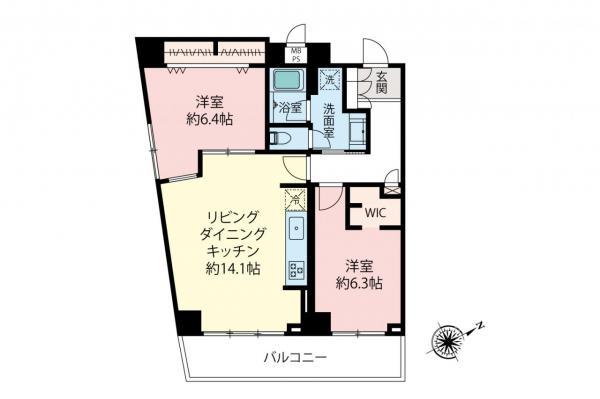 中古マンション 杉並区上荻1丁目 JR中央・総武線荻窪駅 3980万円