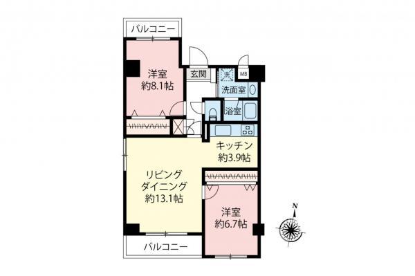 中古マンション 杉並区高円寺北2丁目 JR中央・総武線高円寺駅 5980万円