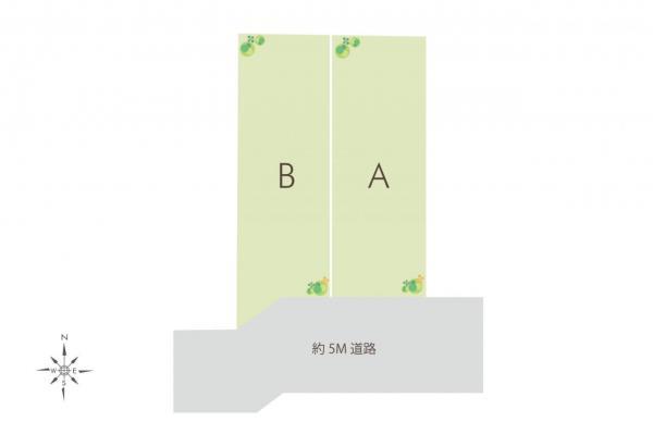 土地 西東京市東町5丁目 西武池袋線保谷駅 3380万円~3480万円