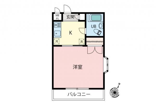 中古マンション 所沢市東所沢2丁目 JR武蔵野線東所沢駅 470万円