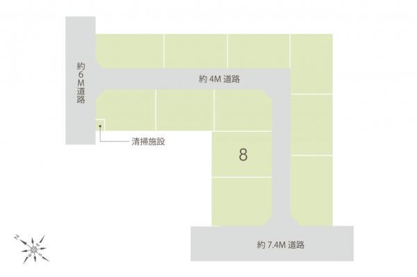 土地 志木市上宗岡3丁目 東武東上線志木駅 2230万円