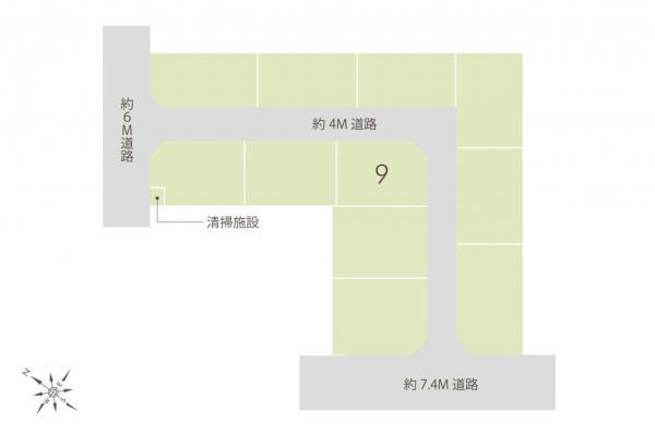 土地 志木市上宗岡3丁目 東武東上線志木駅 2080万円