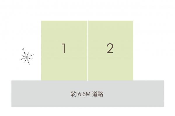 土地 ふじみ野市元福岡3丁目 東武東上線上福岡駅 1590万円