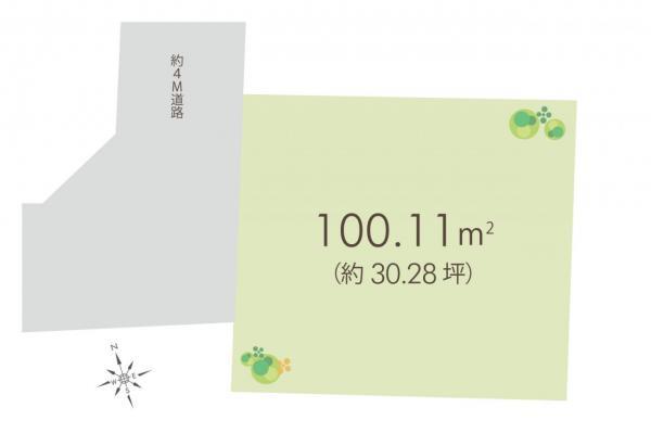 土地 新座市畑中2丁目 東武東上線朝霞台駅 1550万円