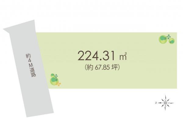 土地 入間郡毛呂山町岩井東1丁目 東武越生線東毛呂駅 1260万円