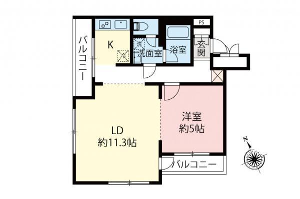 中古マンション 杉並区西荻南2丁目 JR中央線西荻窪駅 5980万円
