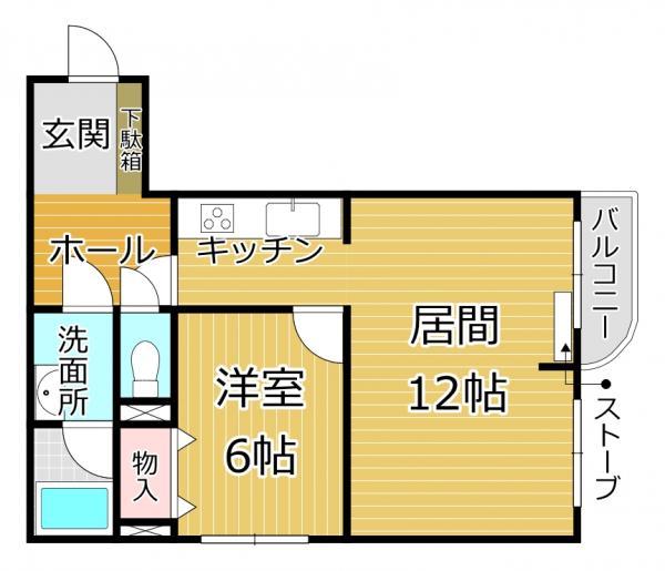 中古マンション 函館市北美原2丁目10-6 駅 678万円