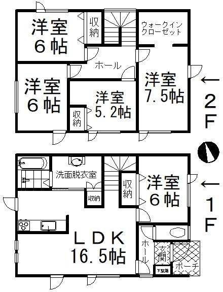 中古戸建 釧路郡釧路町東陽西2丁目 JR根室本線釧路駅 2190万円