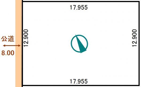 土地 北海道釧路市大楽毛西2丁目181番238 JR根室本線釧路駅 100万円