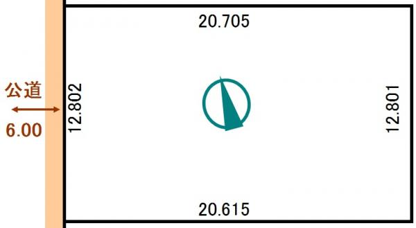 土地 北海道釧路郡釧路町柏東7丁目95番 JR根室本線釧路駅 100万円