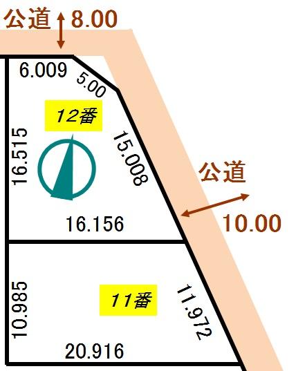 土地 北海道釧路郡釧路町わらび1丁目 JR根室本線釧路駅 89万円